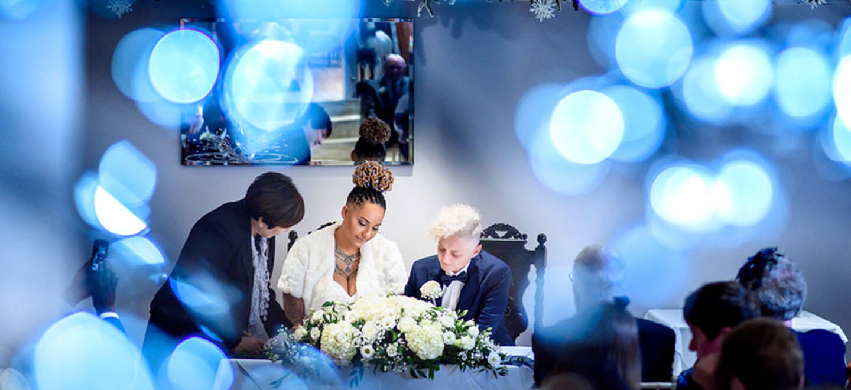 1440 signing register real lesbian wedding image copyright Corina Oghina via the gay wedding guide 2
