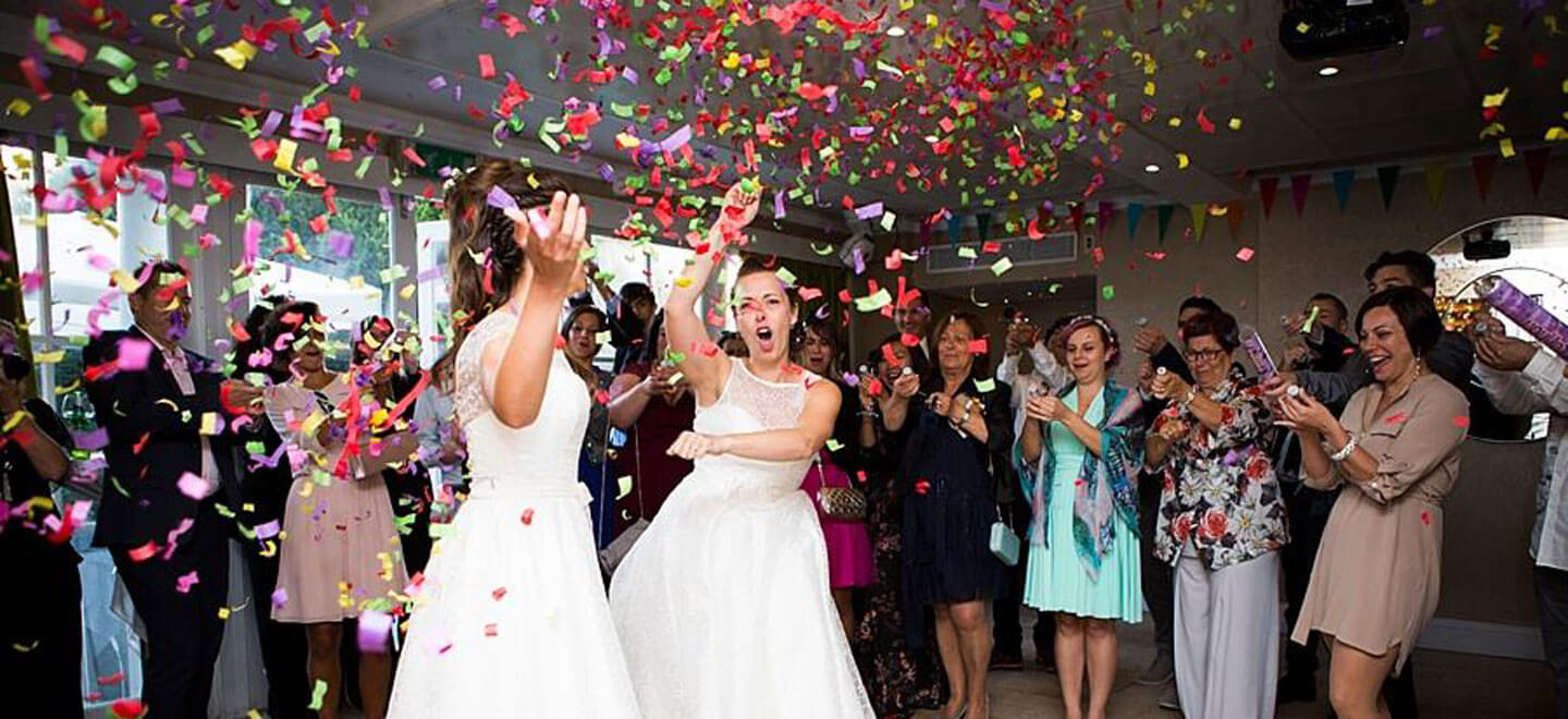 Ale and Eva real lesbian wedding first dance image copyright Paola De Paola Photography via The Gay Wedding Guide 4 5