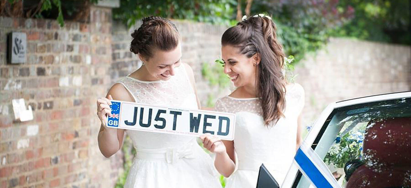 Ale and Eva real lesbian wedding just wed image copyright Paola De Paola Photography via The Gay Wedding Guide 1 4