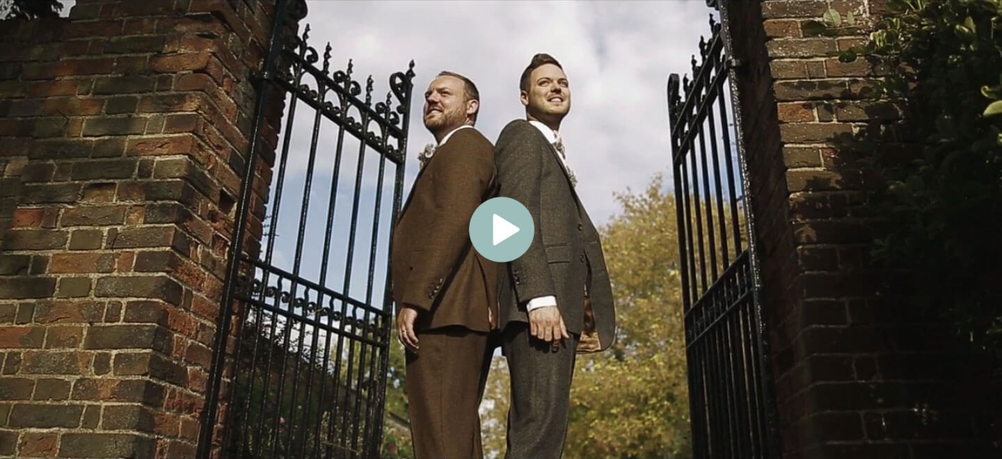 Dan and Chris gay wedding video by white dress films 6