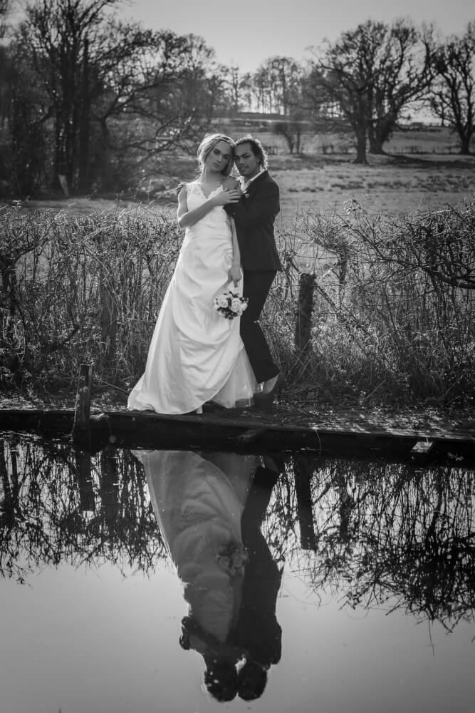 Jess Mark by lake Transgender wedding styled shoot gay wedding guide 6
