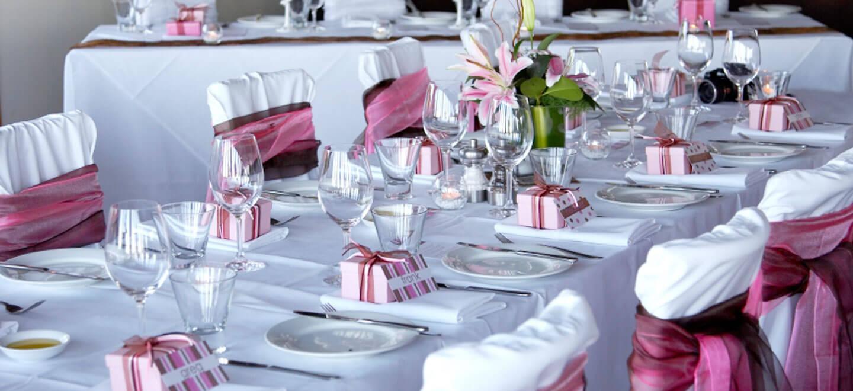 Place settings at Reading wedding venue Holiday Inn Reading gay friendly wedding venue 9