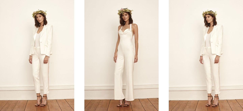 Savannah Miller Bridal Lesbian Wedding Suits via The Gay Wedding Guide 6