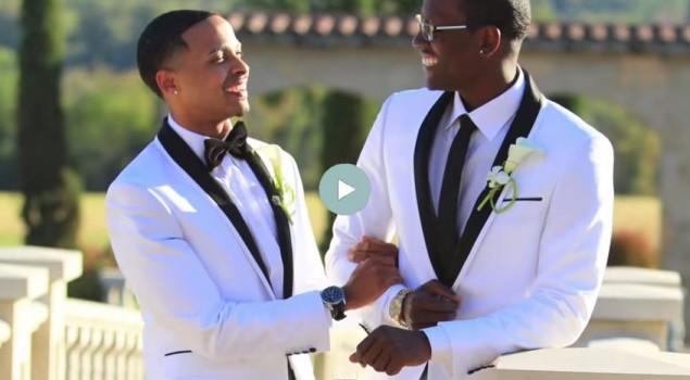 Tamsin and Cory gay wedding video 6