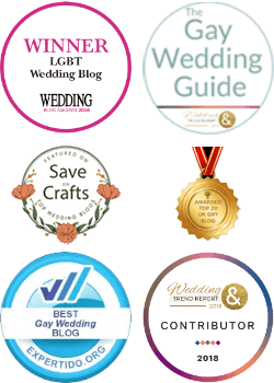 Same-Sex Wedding Guide Awards & Accolades
