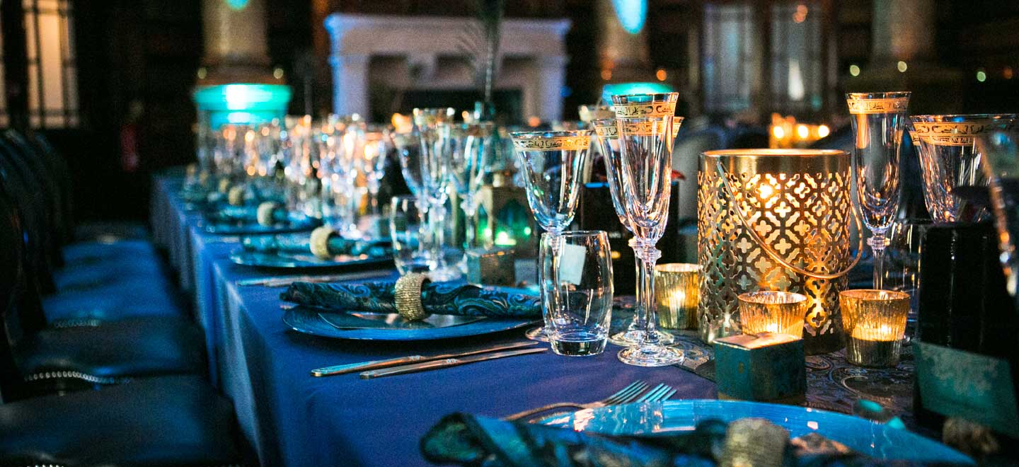 blue and gold styling at peackock themed wedding styled by gay wedding planner shiraz events via the gay wedding guide 6