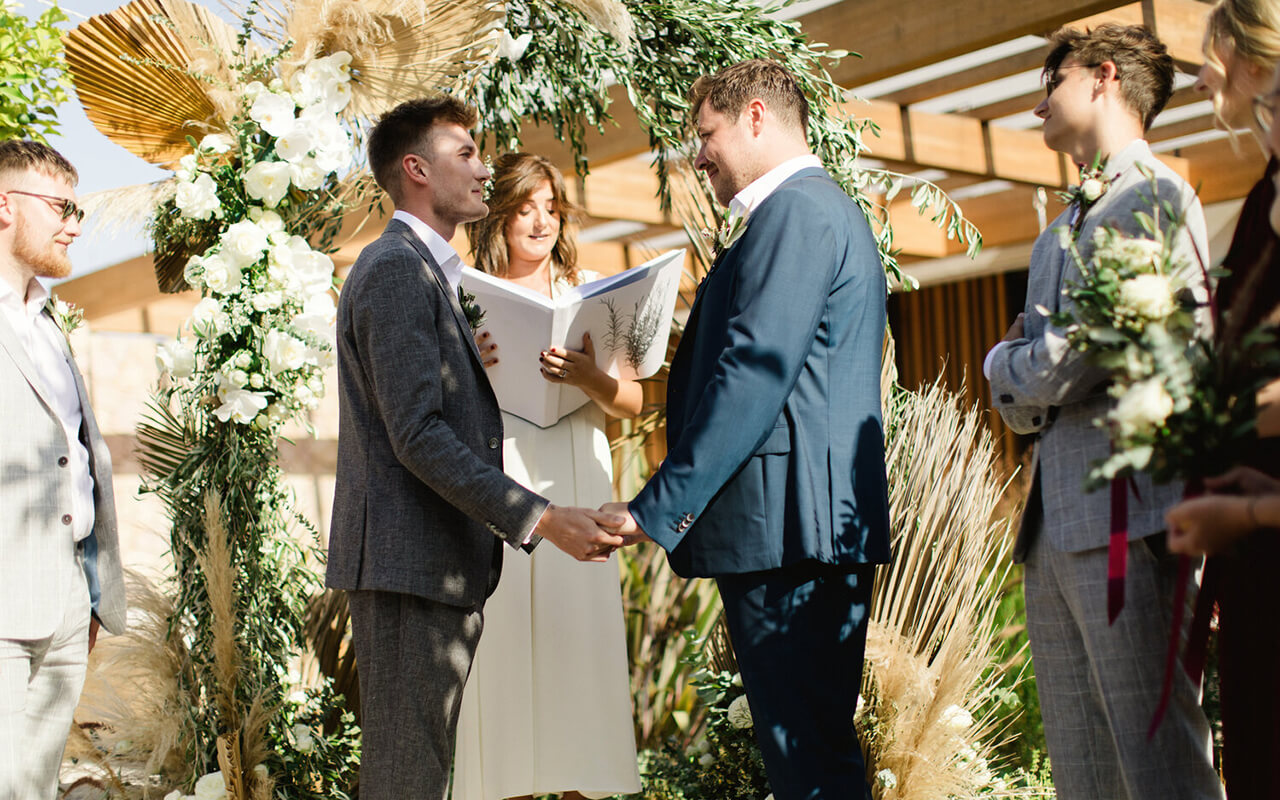flowers london wedding ceremony flowers design by nature 6