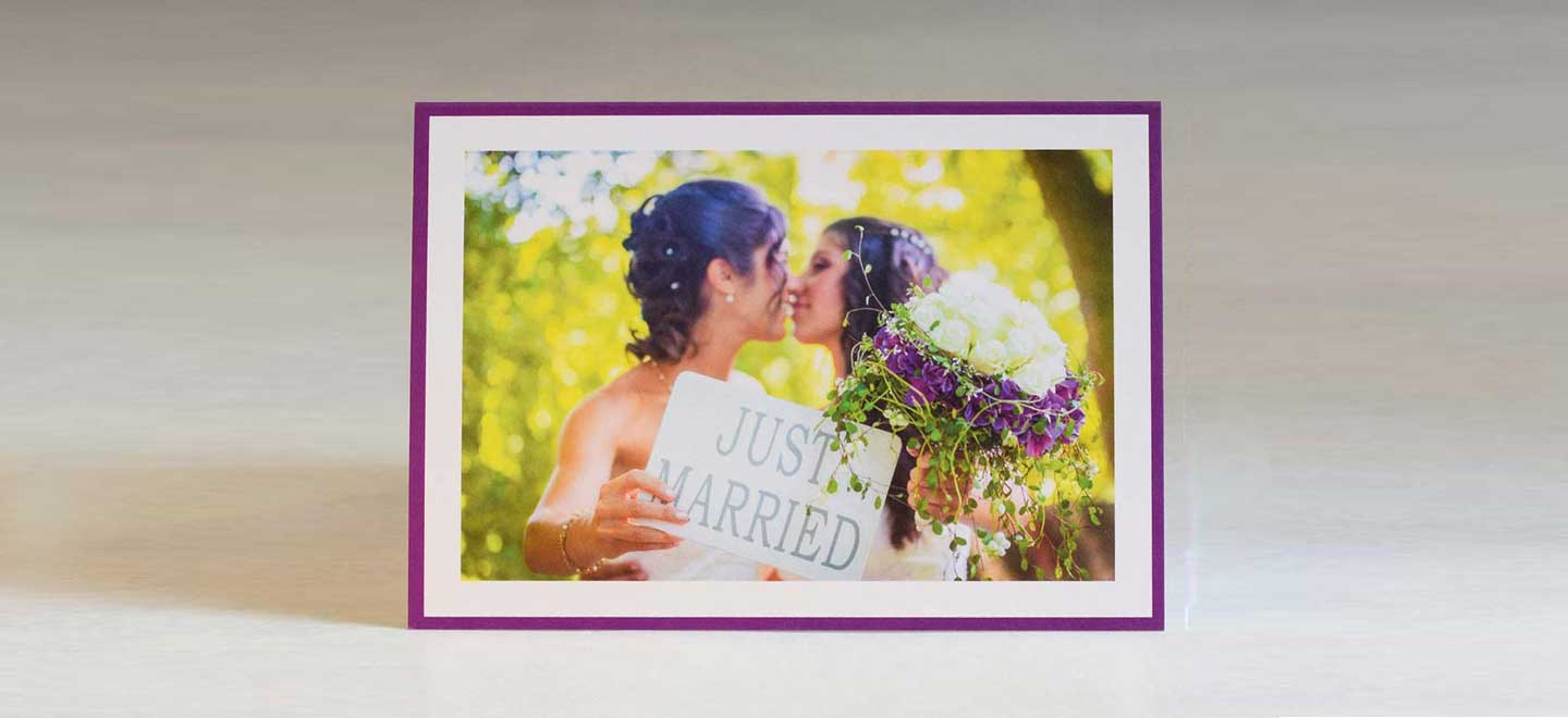 lesbian kiss gay wedding stationery pemberley fox stationers via the gay wedding guide 6