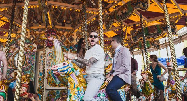 michaelgordon merrygoround same sex marriage brighton wedding held at drakes hotel featured on the gay wedding guide 3
