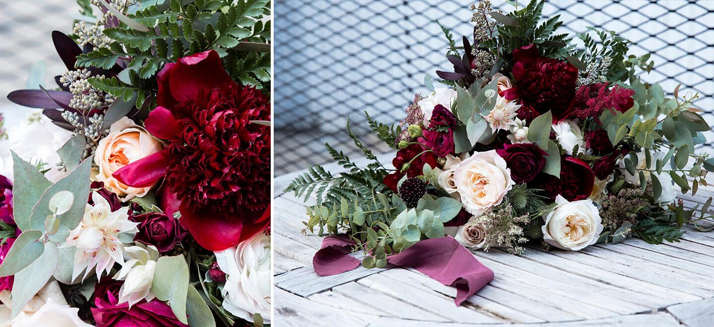 my lady garden rich crimson bouquet gay wedding guide 6