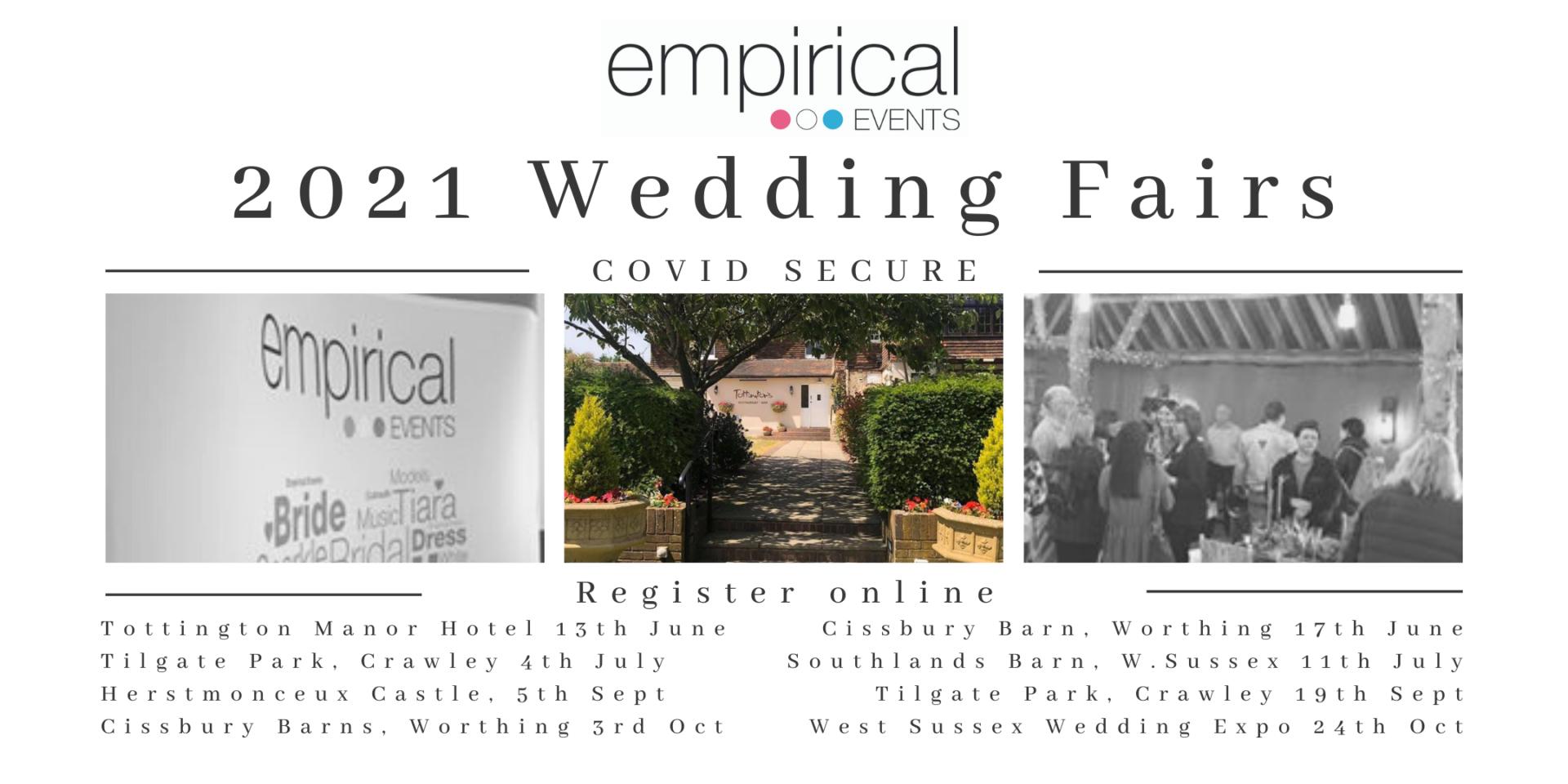 COVID Secure wedding fairs 1